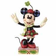Merry Minnie Mouse Figurine