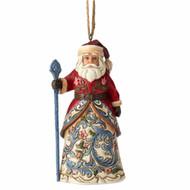 Jim Shore Hanging Norwegian Santa Ornament