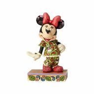 Minnie Mouse in Christmas Pajamas