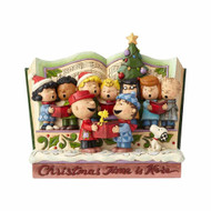 Jim Shore Peanuts Christmas Story Book