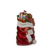 Illuminated Santa Stocking with LED Lights - 97cm