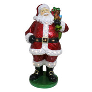 Standing Santa Claus with LEDs - 160cm