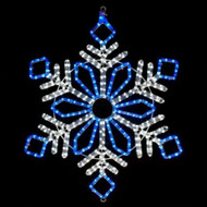 LED Ropelight Snowflake