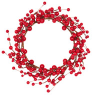 Red Berry Wreath - 30cm