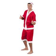 Fleece Summer Santa Suit
