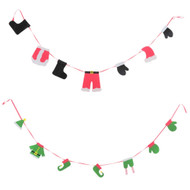 Christmas Clothes Line Garland