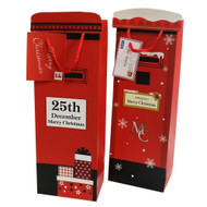 Christmas Mail Box Bottle Gift Bag
