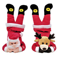 Plush Handstand Christmas Character