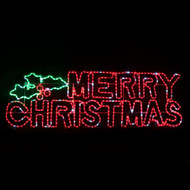 LED Ropelight Twinkle Merry Christmas