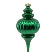 Green Hanging Finial - 25cm