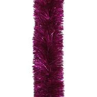 Plush Hot Pink Tinsel