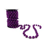 Purple Beaded Garland