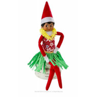 Claus Couture Holiday Hula Wear