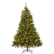 7.5FT Pre-Lit Kingston Christmas Tree