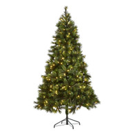 7.5FT Pre-Lit Washington Christmas Tree