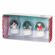 Christmas Snow Globe Set