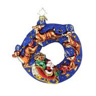 Santa's Midnight Ride Ornament