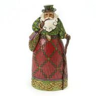 Jim Shore Irish Santa Claus