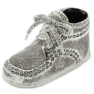Silver Birth Record Shoe