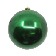 Dark Green Shiny Bauble - 200mm