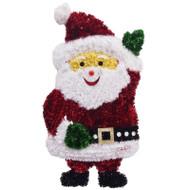 Waving Santa Claus Tinsel