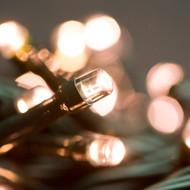 Rose Gold Warm White LED Lights