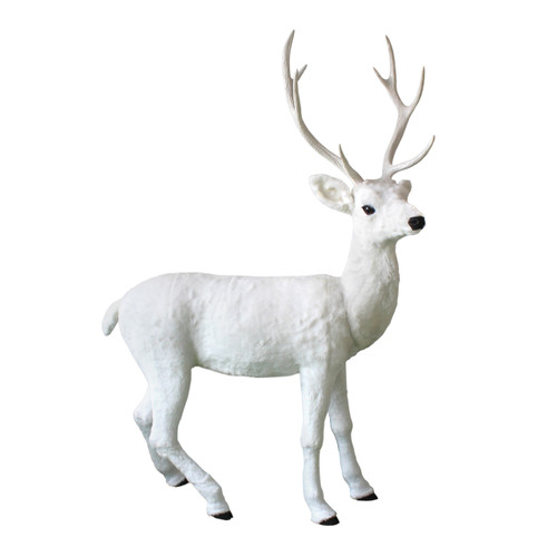 Blanche the Large White Reindeer