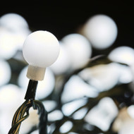 300pc Connectable LED Cherry Ball Lights - White