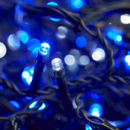 400pc Connectable LED Icicle Lights - Blue/White