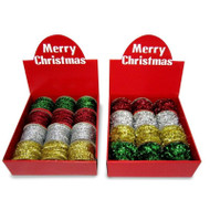 2.7m Tinsel Garland Spool