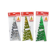 Foil Christmas Tree (3 Colours) - 30cm
