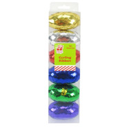 6pc Metallic Curling Ribbon