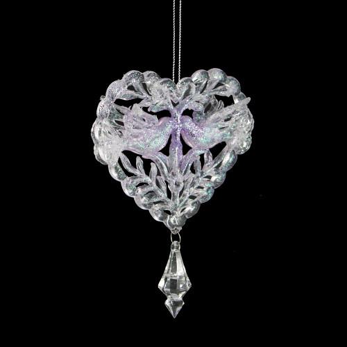 Kissing Doves ornament