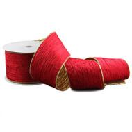 Red Velvet and Gold ribbon