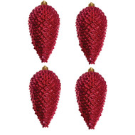 Candy Red Pinecones