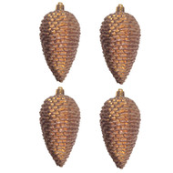 Gold Brown Pinecones
