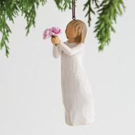 Willow Tree Figurine - Thankyou Ornament (Back)