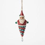 Jim Shore - Santa Winter Wonderland  Ornament