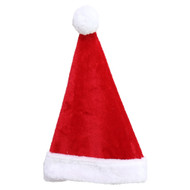Santa Hat with Fur Trim