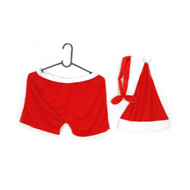 3pc Santa Boxer Short Set