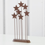 WillowTree  - Metal Star Backdrop