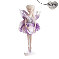 Goodwill Purple Frozen Fairy Doll with Stand