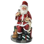 Santa with checklist
