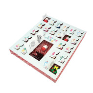 Christmas Eraser Advent Calendar