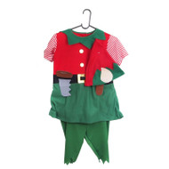3pc Boys Elf Costume