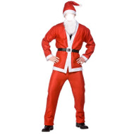 Adult Christmas Santa Suit - 5pc