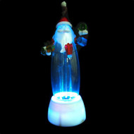 LED Musical Santa Fountain - 30cm