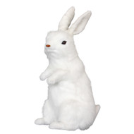 Bunny Lifelike White Rabbit