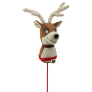 Cute Christmas Reindeer Head - 34cm