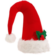 Santa Hat Christmas Tree Topper - 36cm